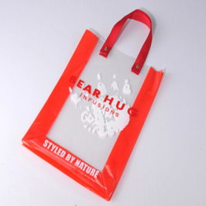 Eco-Friendly Transparent Printing PVC Hand Bag pictures & photos