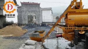 Qjhbt-40c/Qjhbt-50b Diesel & Electric Concrete Mixer Trailer Pump pictures & photos