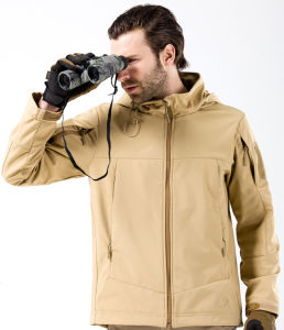 Men Outdoor Cheap Protective Clothing Hunting Camping Waterproof Jacket pictures & photos