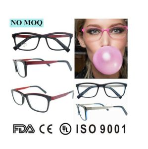 2017 Unique Style Optical Frame Glasses Top End Acetate Reading Eyeglasses pictures & photos