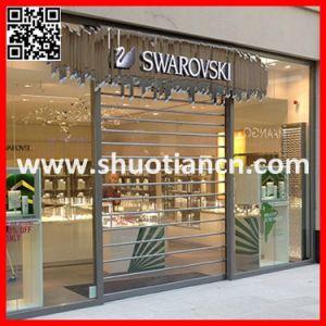 Elegant Shopfront Commercial Shop Roller Shutter (ST-001) pictures & photos