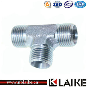 (AC) Carbon Steel Hydraulic Equal Tees Adapter