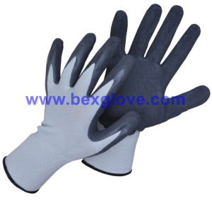 Pretty Color, Foam Finish, Work Glove, Garden Glove pictures & photos