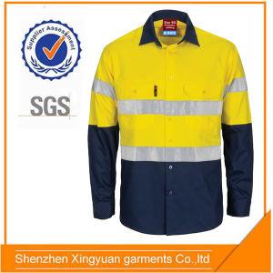 Star Sg 100%Cotton Flame Retardant Anti Static Flame Retardant Workwear Shirt