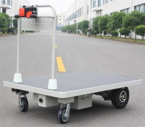 Material Handling Electric Platform Cart (HG-1080) pictures & photos