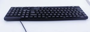Computer Keyboard, 1.50USD with Fob and Color Box, MOQ 10, 000 PCS pictures & photos