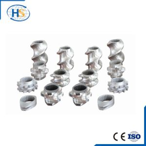 Twin Screw Extruder Screw for Plastic Granulating Line Manufacturer pictures & photos