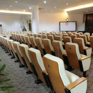 Lecture Theatre Chairs, Auditorium Chair, School Furniture Lecture Hall Seating, Auditorium Seating, Theater Seat (R-6155) pictures & photos