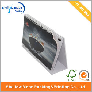 Custom Company Item Quality Paper Calendar (QY150076) pictures & photos