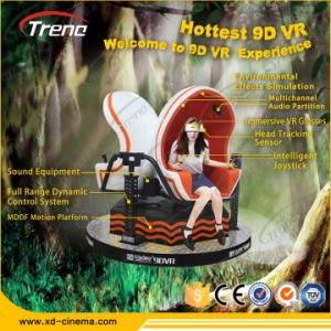 Most Attractive 3 Blue Seats 9d Virtual Reality Simulator pictures & photos