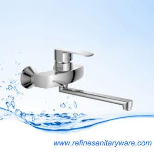Wall Mounted Zinc Kitchen Mixer S-Spout Faucet (R5518258-30FY) pictures & photos