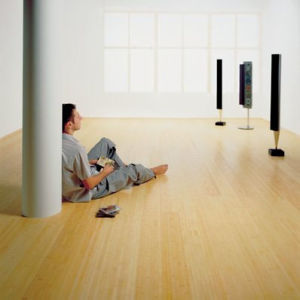 Strand Woven Bamboo Flooring Natural Smooth UV Lacquer pictures & photos