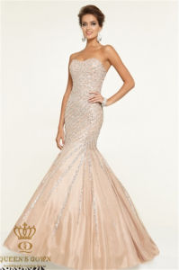 Bra Handmade Beads Ladies Evening Dress, Prom Dress, Factory Direct pictures & photos