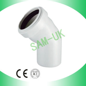Grey PVC 45deg Elbow with Socket pictures & photos
