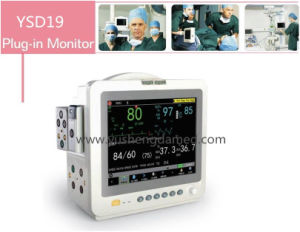 Large Screen 12.1/15/17 Inch Portable Patient Monitor pictures & photos