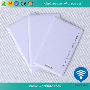 125kHz Em4200 White Blank Thick Smart Card pictures & photos