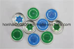 20mm Color Aluminum Plastic Flip off Cap pictures & photos