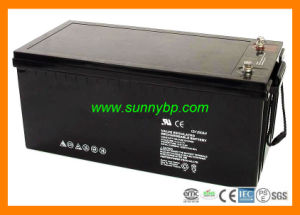 12V 100ah/200ah Rechargeable Maintenance Free Battery for Solar Power System pictures & photos