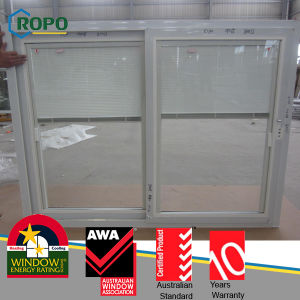 High Quality Aluminium Windows with Mosquito Net Fly Screen pictures & photos