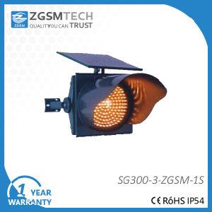 Solar LED Traffic Warning Flashing Light