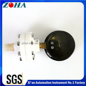 Full Plastic Diaphragm Pressure Gauge with Diameter 75mm 100mm pictures & photos