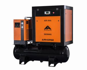 Ce, ISO, ASME5.5kw/7.5HP Champion Tank and Dryer Combined Air Compressor pictures & photos