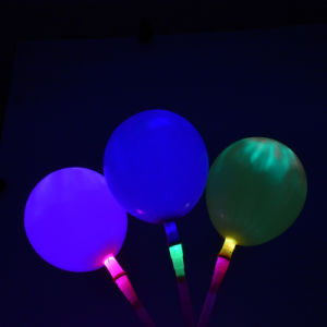 LED Flashing Latex Bolloon Helium Balloon Latex Flashing Balloons pictures & photos