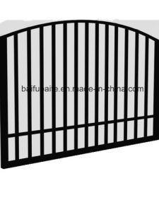 Custom Outdoor Fence Gate Hot Dipped Galvanised Iron Gate for Garden pictures & photos