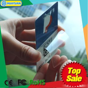 EPC1 GEN2 RFID UHF Windshield TAG Parking card with QR code pictures & photos