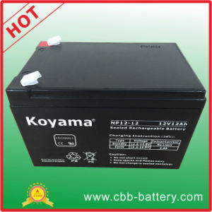 12V 12ah Lead Acid AGM Battery for Security, UPS, Surge Protector pictures & photos