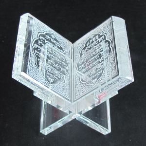 Crystal Bible Book Crystal Quran Gift pictures & photos