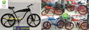 "Cdh Complete 26"" Motor-Ready Bicycle/2.4L in-Frame Gas Tank pictures & photos"