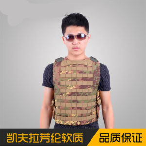 Selling Good! Safety Anti-Bullet Kevlar Plates Multi-Pockets Military Green Tactical Outdoor Travelling Quick-Release Vest pictures & photos