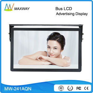 24 Inch Andriod Wireless WiFi 3G 4G Bus Digital Signage, 24V Bus Coach LCD Monitor for Bus (MW-241AQN) pictures & photos