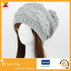 Women Knitting Winter Hat with Pompom pictures & photos