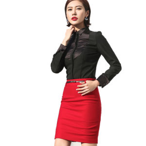 Top Quality Ladies Office Formal Wear Women Business Suit pictures & photos