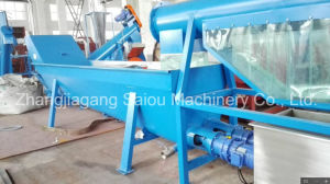 Waste Plastic Pet Crushing Washing Recycling Machine Line pictures & photos