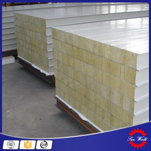 China Building Thermal Insulation Rock Wool Sandwish Panel pictures & photos