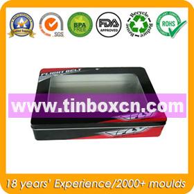 Rectangular Metal Tin Box for Promotion, Gift Tin Container pictures & photos