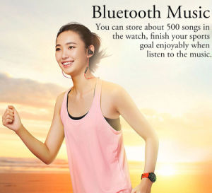Amazfit Sports Wristband Fashion Watches Call Message Reminder Pedometer Smart Watch pictures & photos