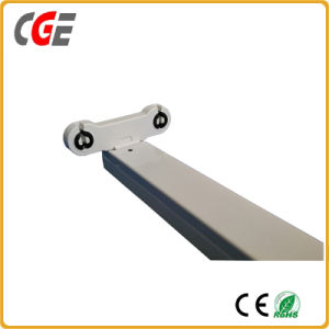 Good Price of Twin-Tube LED T8 Housing T8 Bracket Lighting Fixture for T8 LED Tube Light pictures & photos