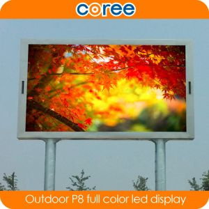 Outdoor P8 High Brightness Full Color LED Screen pictures & photos