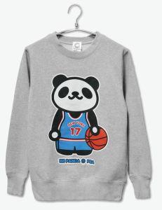 Ss17 Ladies Cotton Fleece Loopback Print Round Neck Sweatshirts Hoodies pictures & photos