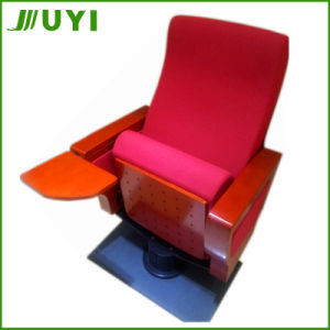 Jy-996D Used Wood Auditorium Theatre Seating Portable Theater Chair pictures & photos