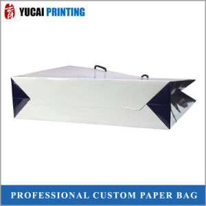 Bags Wholesale White Paper Bag for Clothing Packaging pictures & photos