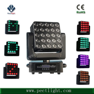 DJ 25*15W RGBW LED Light Moving Head with Beam pictures & photos