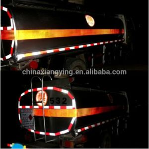 15cm Width High Intensity Diamond Grade Vehicle Reflective Sheeting, Orange Safety Warning Reflective Film Tape pictures & photos