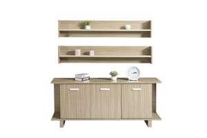 Wood Combination Mutil-Drawers Vertical Office Filing Cabinet pictures & photos