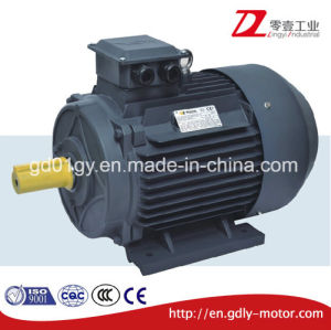 High Efficiency Cast Iron/Aluminum 3-Phase Induction AC Motor for Industrial Fans pictures & photos