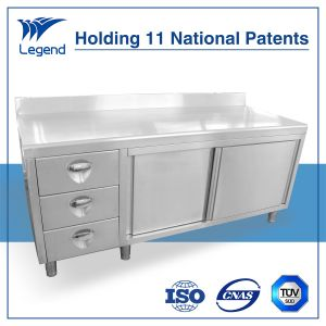 Stainless Steel Work Table with Drawers pictures & photos